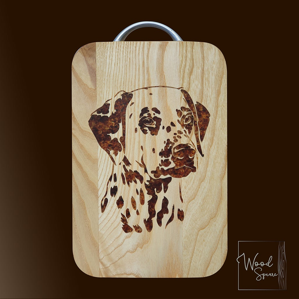 Image of Dalmatian chopping board