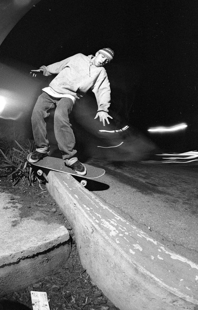 Brian Ferdinand, San Leandro 1991 by Tobin Yelland