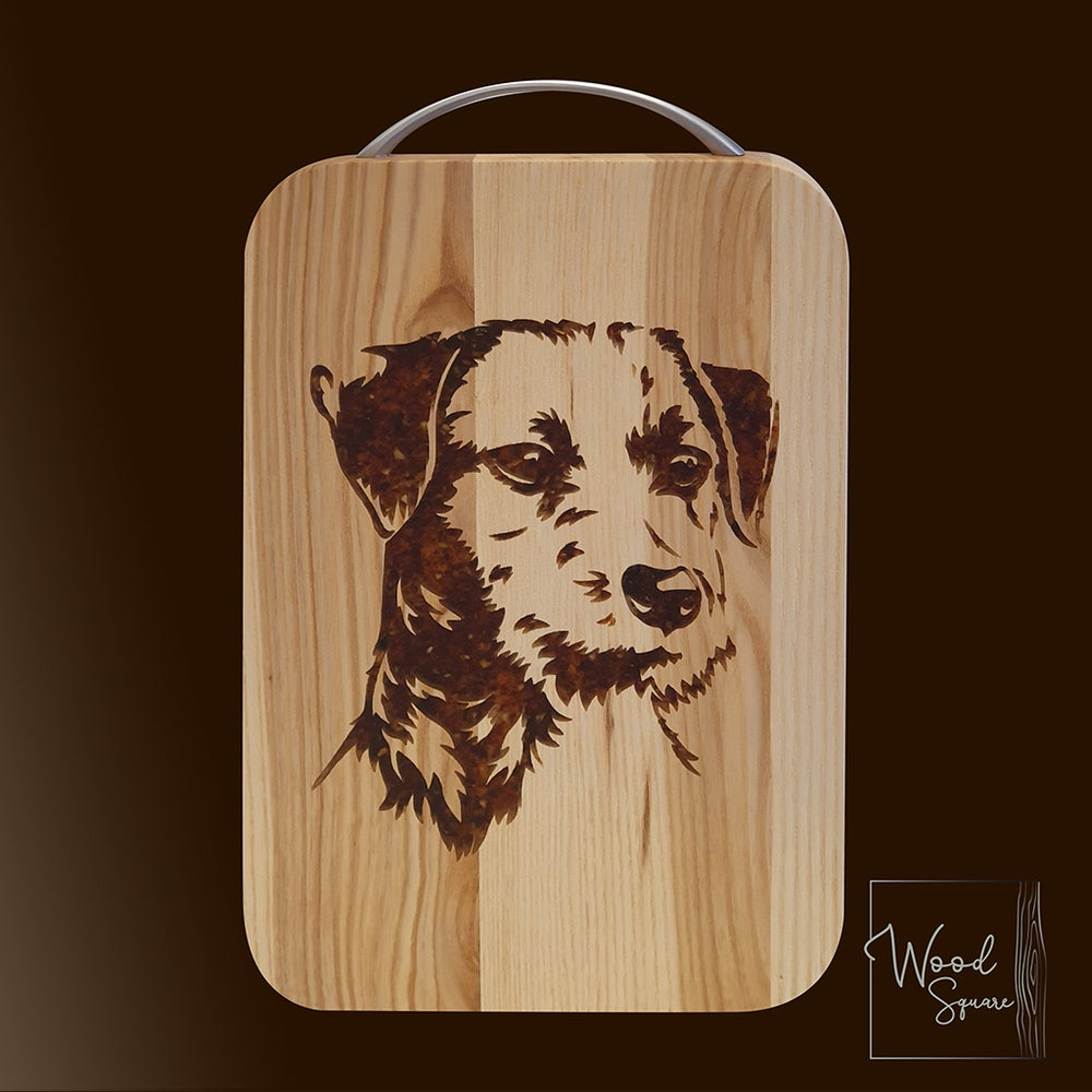Image of  Jack Russell's chopping board