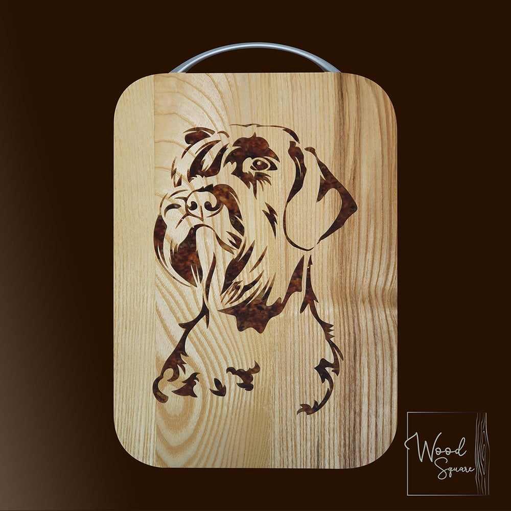 Image of  Schnauzer chopping board