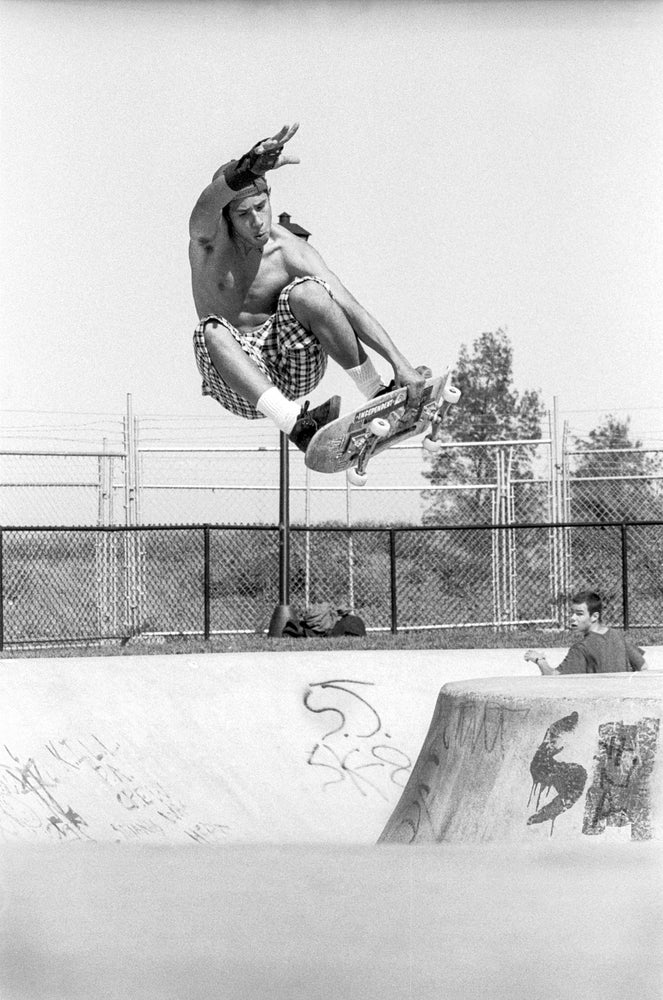Coco Santiago, Palo Alto 1989 by Tobin Yelland