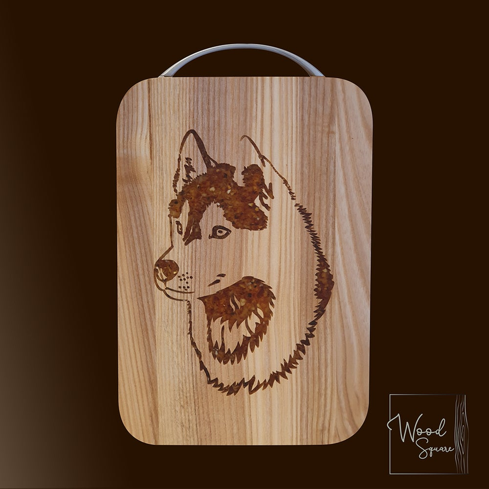 Image of  Siberian Husky chopping board