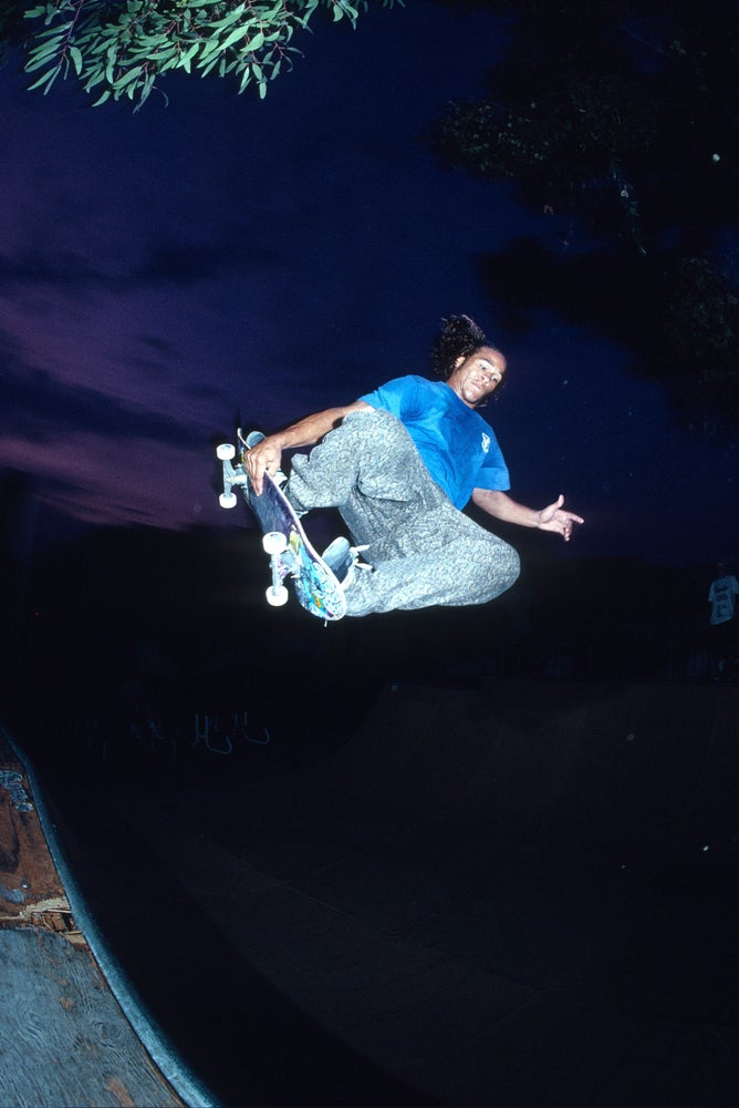 Sean Sheffy, Sacramento 1991 by Tobin Yelland