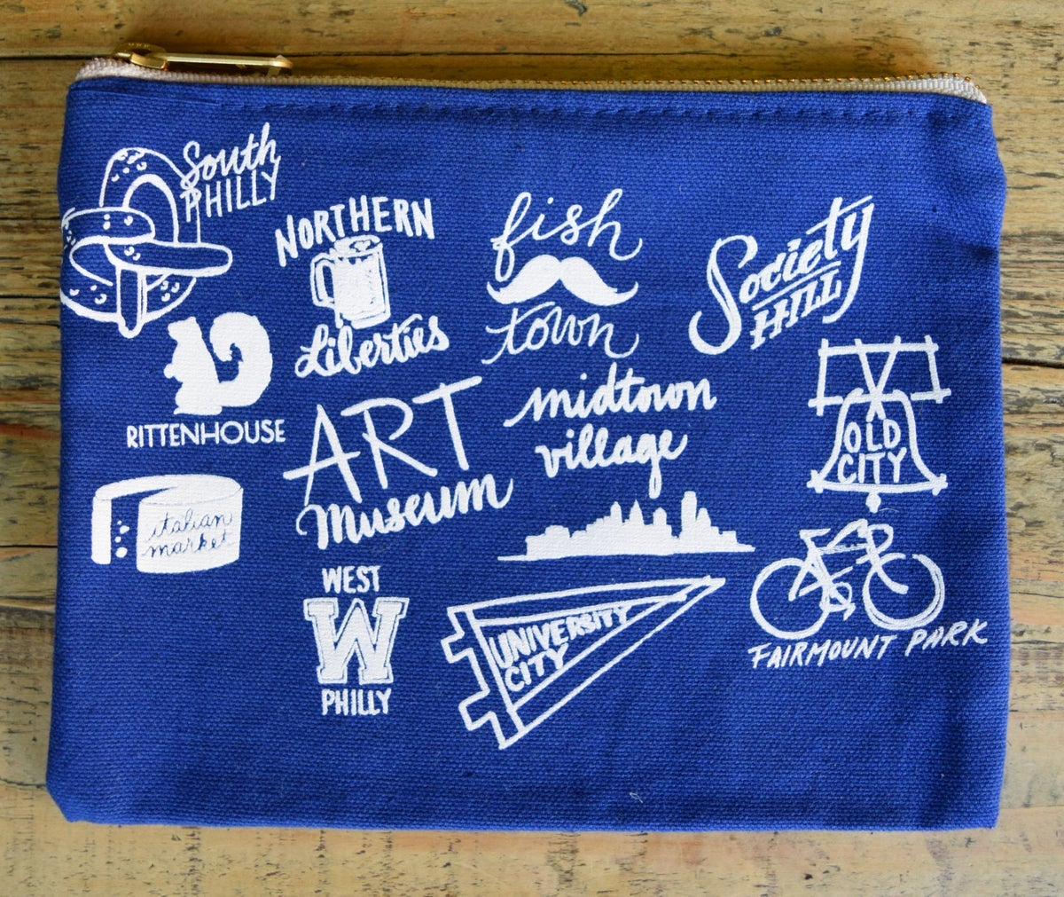 Neighborhoods Zip Pouch