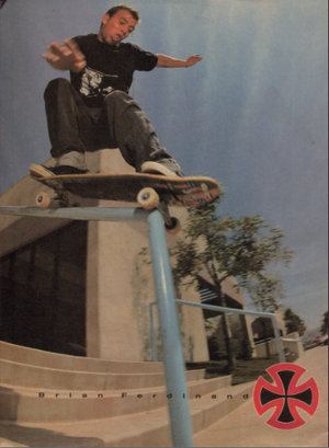 Brian Ferdinand, Castro Valley 1991 by Tobin Yelland