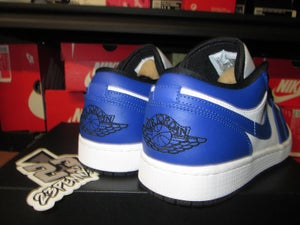 "Image of Air Jordan I (1) Retro Low ""Hyper Royal/White"""