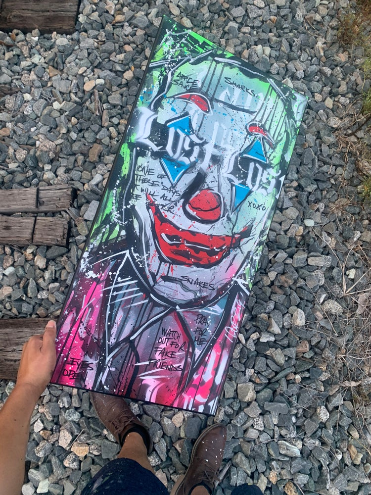 """Image of Joker """" I Am Lost """" by Official NEHS"""