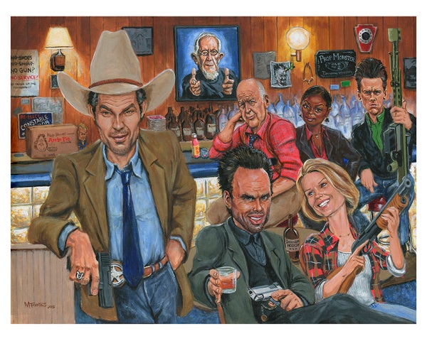 """Image of """"Justified"""" (from the FX series """"Justified"""")"""