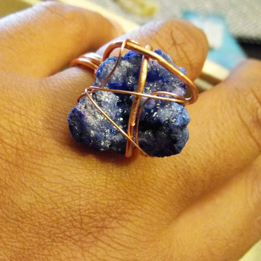 Crystal Cuffs and Ring