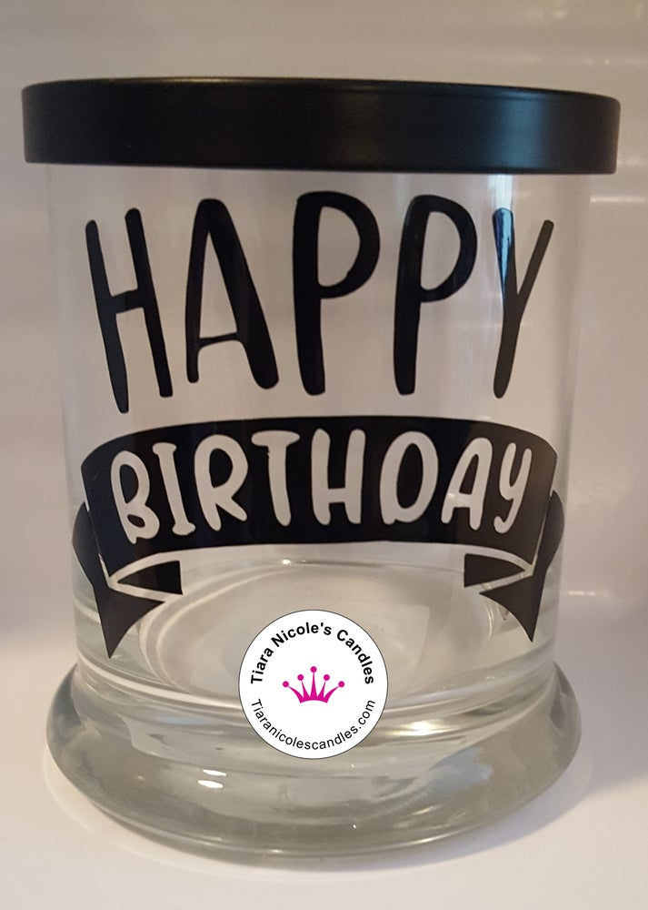 Image of 11oz Glass Jar Candles