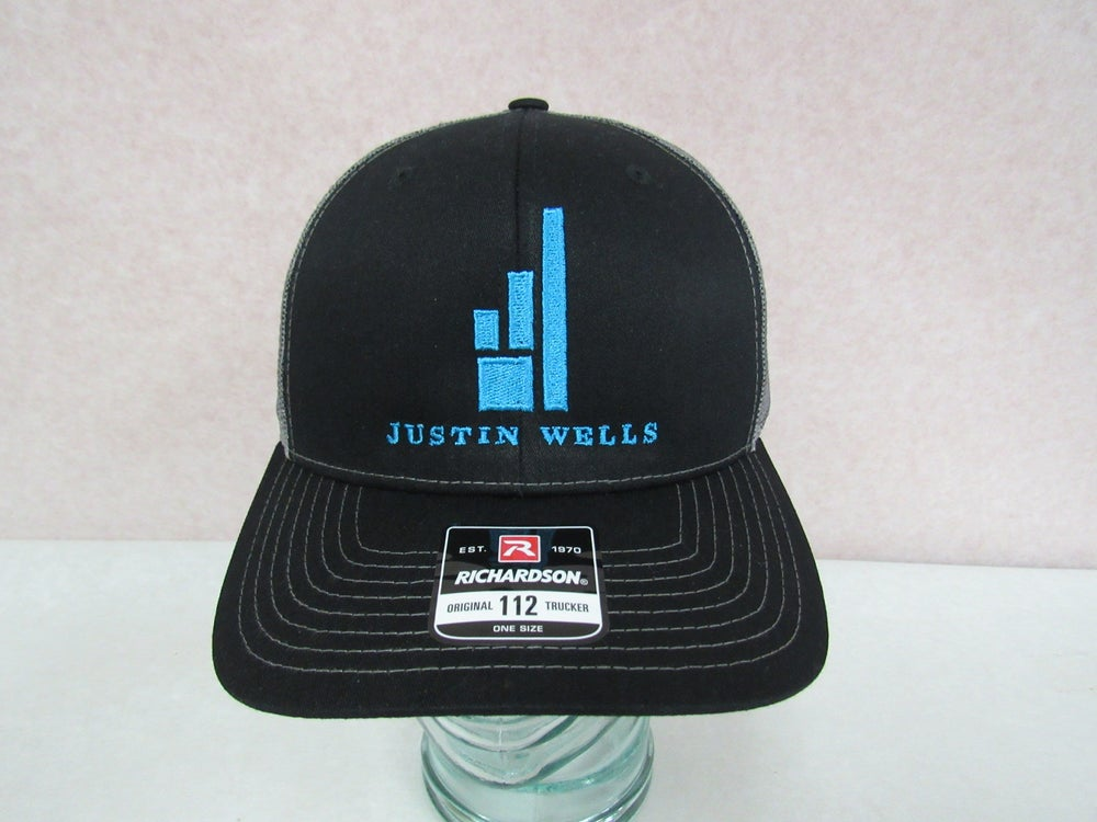 "Justin Wells Blue ""The United State"" Hat"