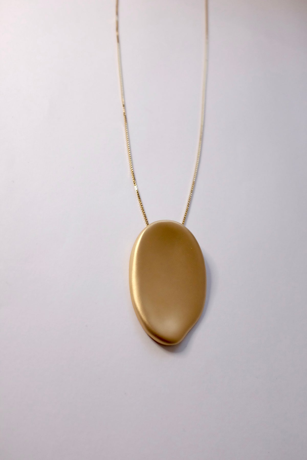Image of Palette Necklace (Matte gold)