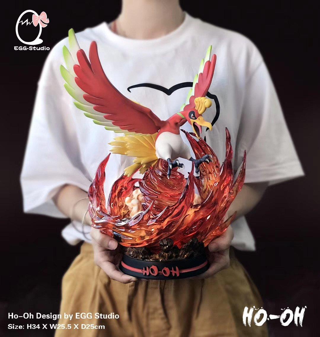 Image of  [Pre-Order]Pokemon Egg Studio Ho-Oh Resin Statue