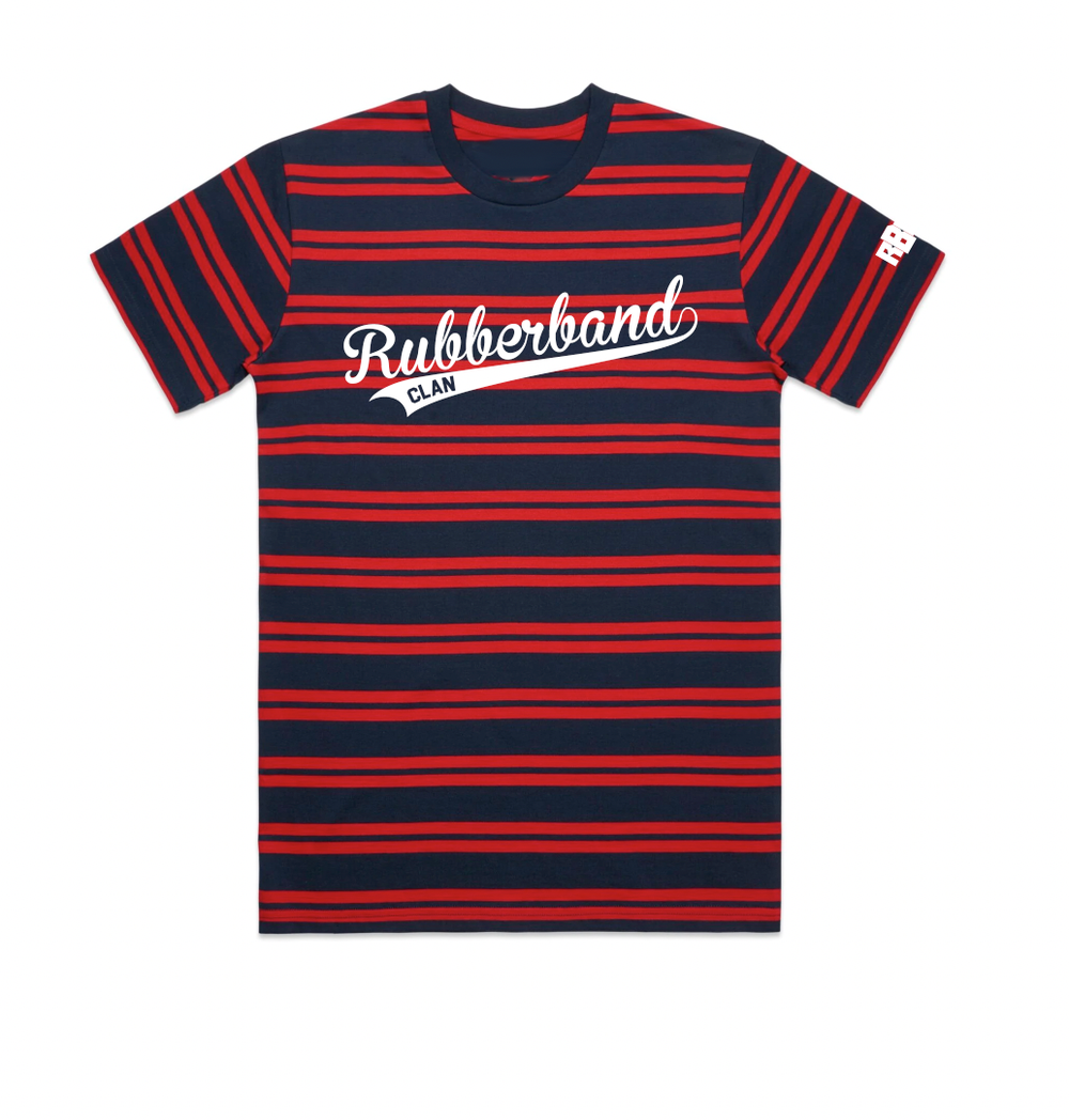 Image of Rubberband Clan Stripped Shirt