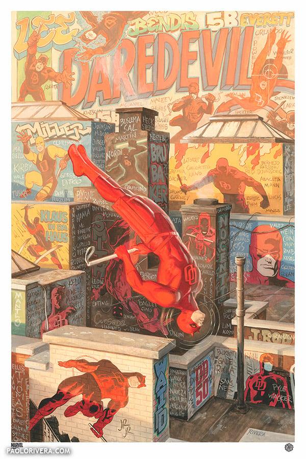 Image of Daredevil #1.5 by Paolo Rivera