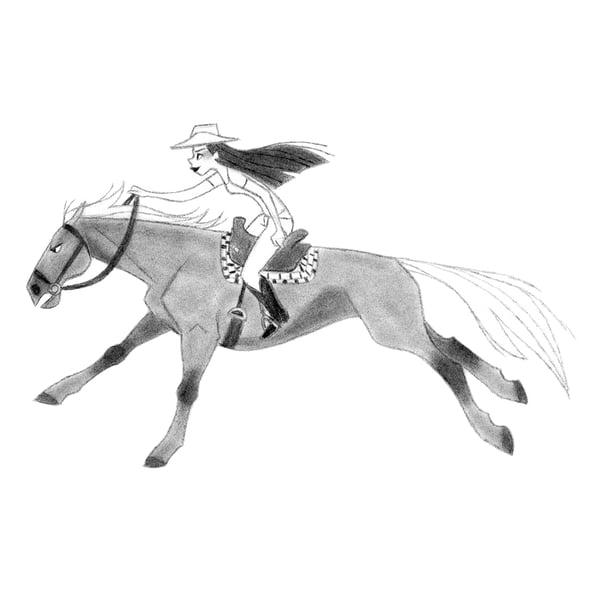 Image of Horse sketch 14 [Original]