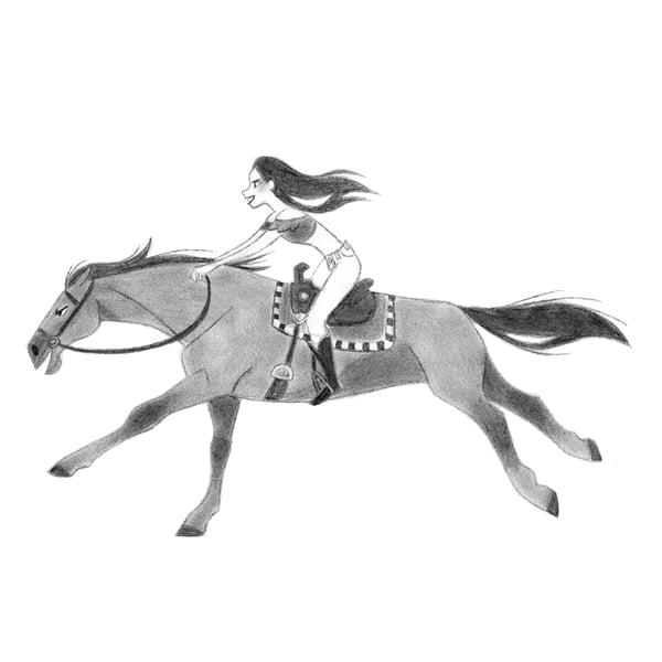Image of Horse sketch 21  [Original]