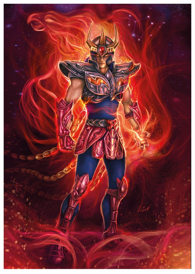 Image of IKKI - Phoenix  limited ed. of 30  A2(59,4x42) prints on 400gr. fine art canvas