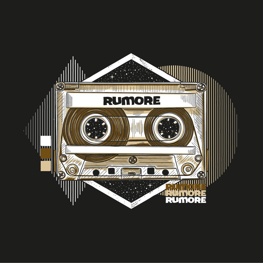 Image of RUMORE TAPE / BLACK