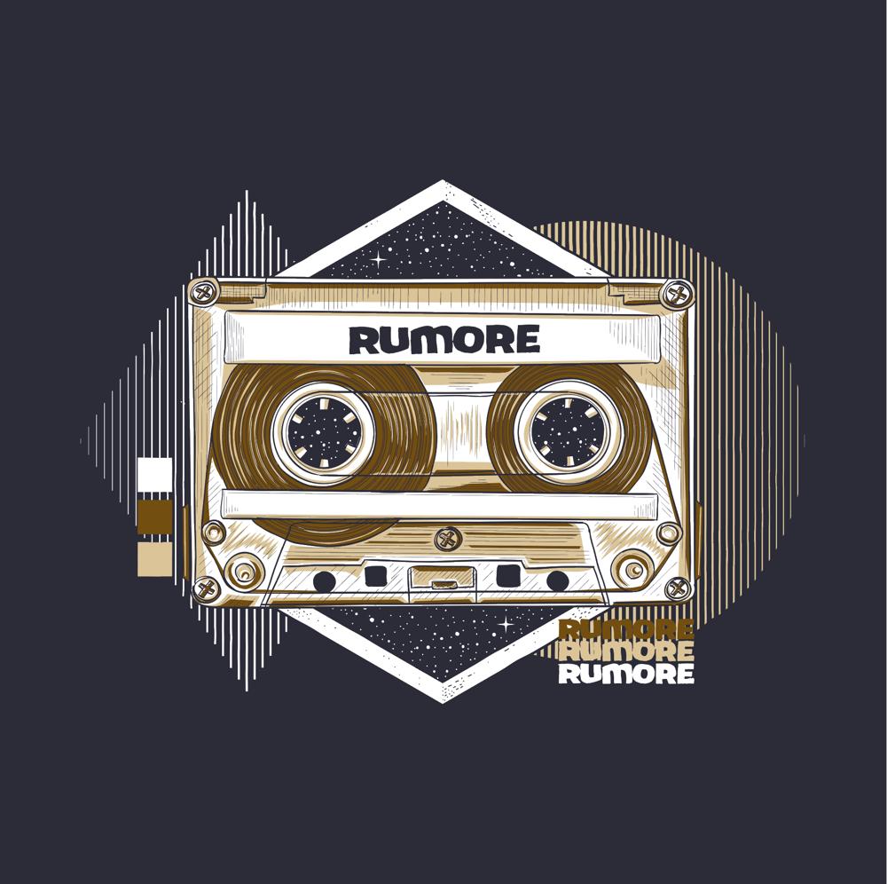 Image of RUMORE TAPE / NAVY