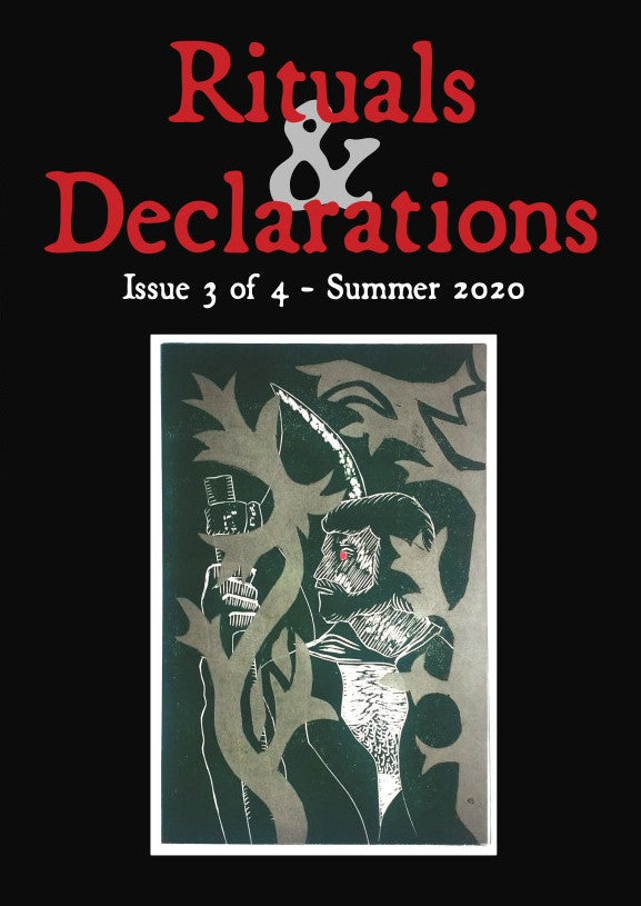 Image of Rituals & Declarations issue 3 of 4 - Summer 2020 PRE-ORDER