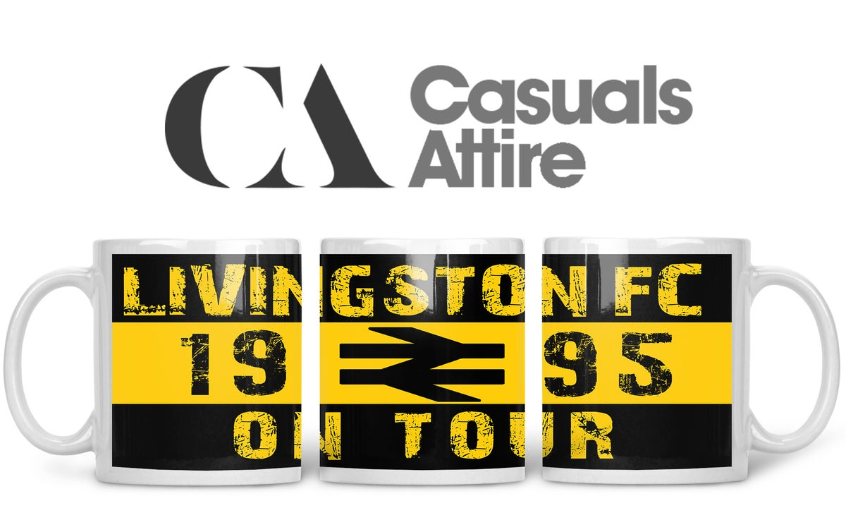 Livingston, Football, Casuals, Ultras, Fully Wrapped Mugs. Unofficial. FREE UK POSTAGE