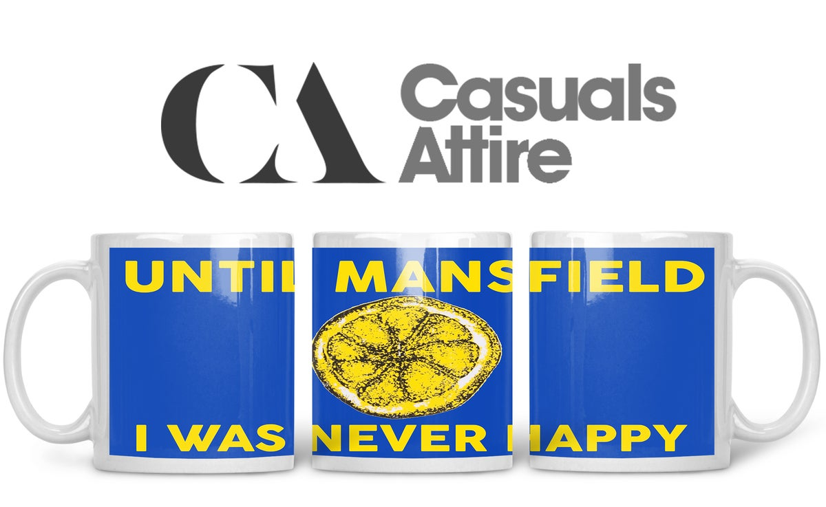 Mansfield, Football, Casuals, Ultras, Fully Wrapped Mugs. Unofficial. FREE UK POSTAGE