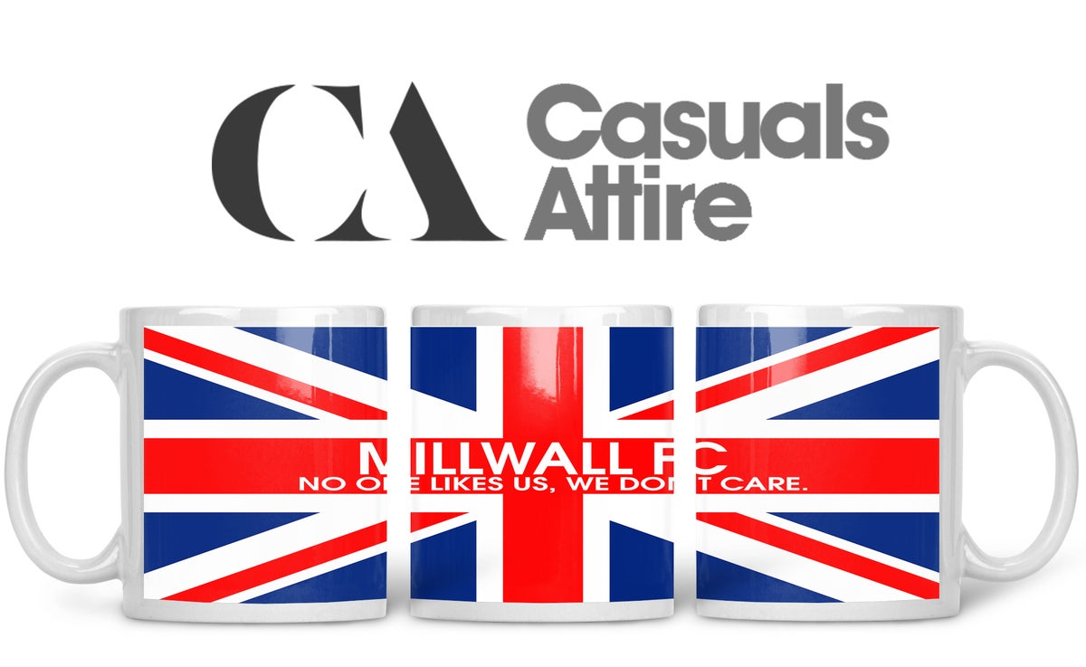 Millwall, Football, Casuals, Ultras, Fully Wrapped Mugs. Unofficial. FREE UK POSTAGE
