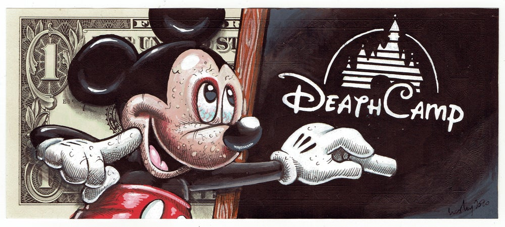 Image of Real Dollar Original. Mickey Murder.