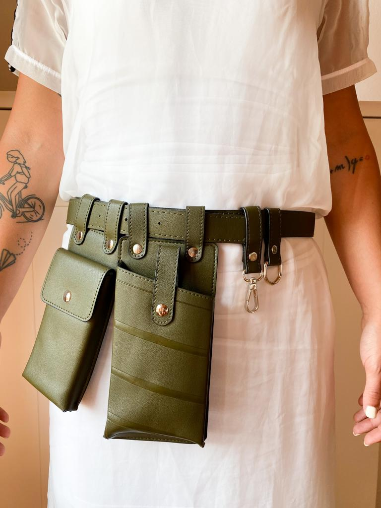 Image of STYLING BELT OLIVE