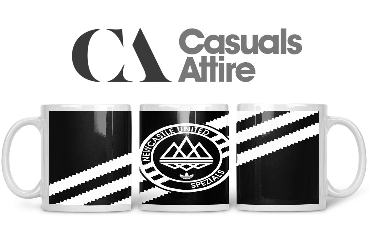 Newcastle, Football, Casuals, Ultras, Fully Wrapped Mugs. Unofficial. FREE UK POSTAGE
