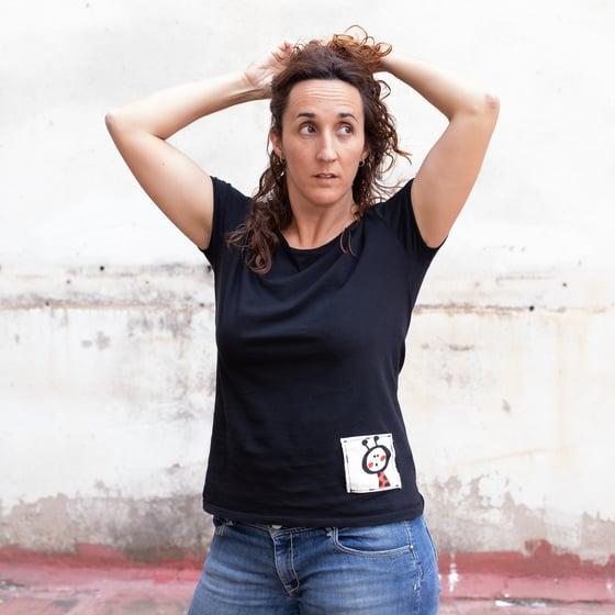Image of Samarreta bàsica dona en cru o color/Camiseta mujer básica en crudo o color