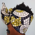 African Fabric Hair Strip/Bands