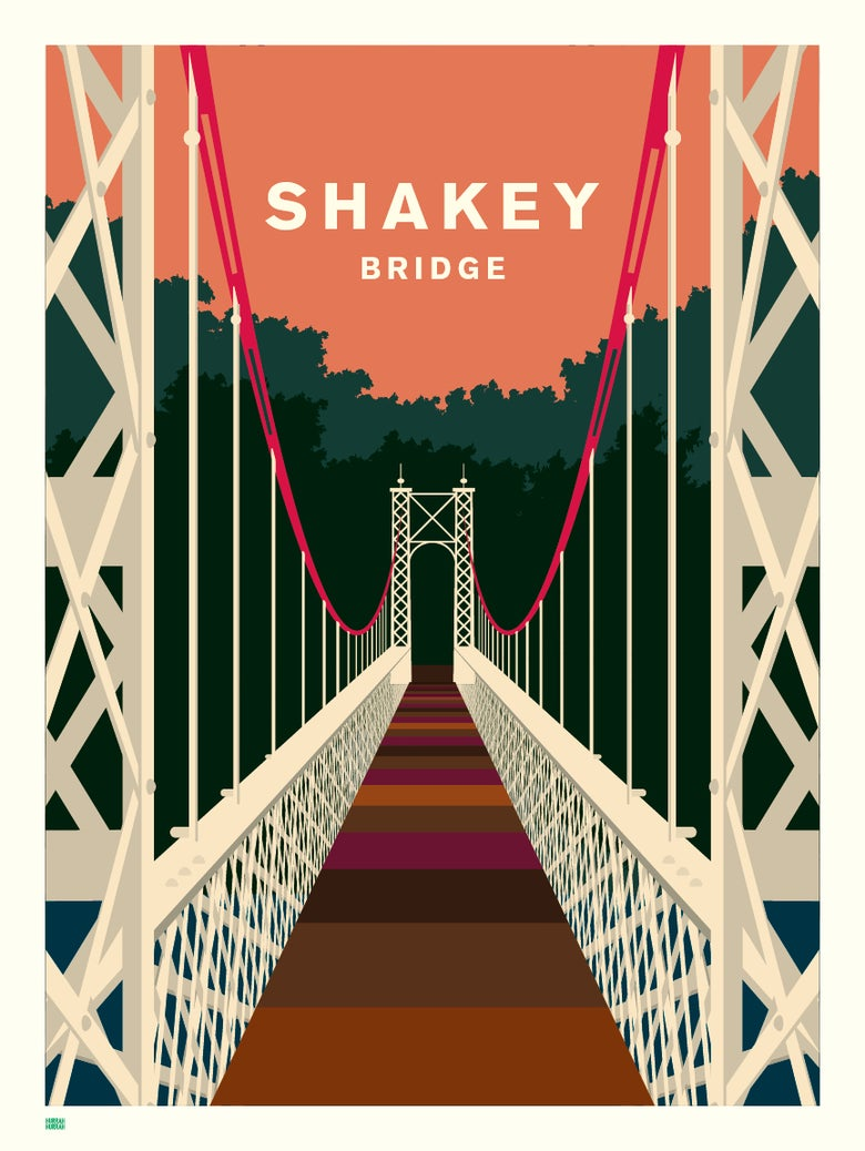 Image of 'Shakey' Bridge