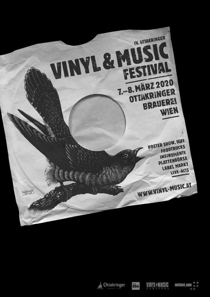Image of »Vinyl & Music Festival Wien« Poster