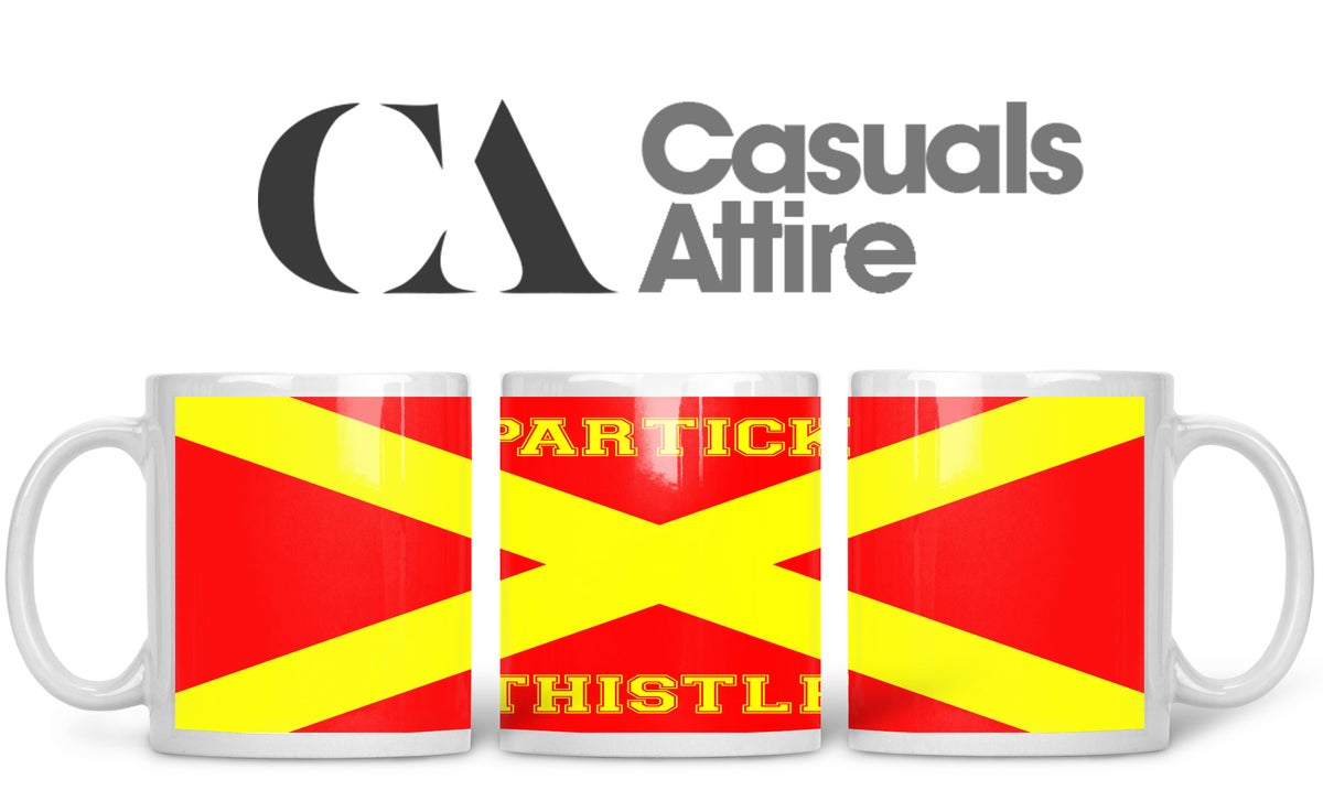 Partick, Football, Casuals, Ultras, Fully Wrapped Mugs. Unofficial. FREE UK POSTAGE