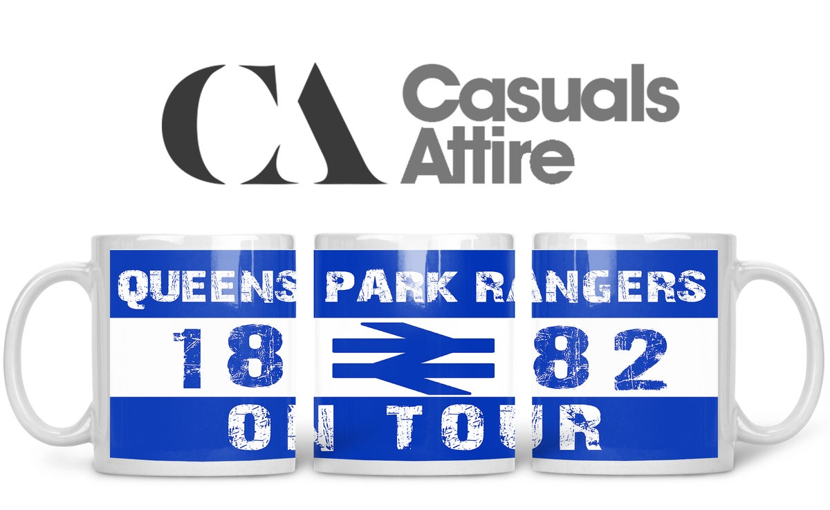 QPR, Football, Casuals, Ultras, Fully Wrapped Mugs. Unofficial. FREE UK POSTAGE