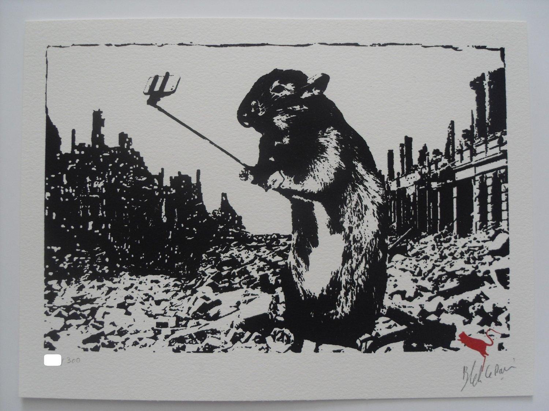 "Image of BLEK LE RAT - ""AFTER THE APOCALYPSE"" - LTD ED 300 - 2017"