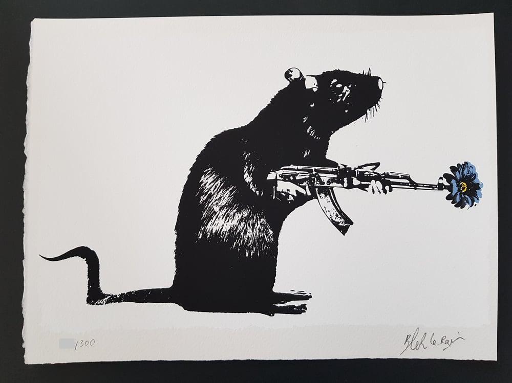 "Image of BLEK LE RAT - ""THE WARRIOR"" - LTD ED 300 - 2018"