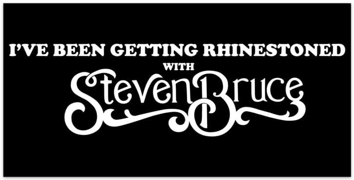 Image of Rhinestoned Bumper Sticker