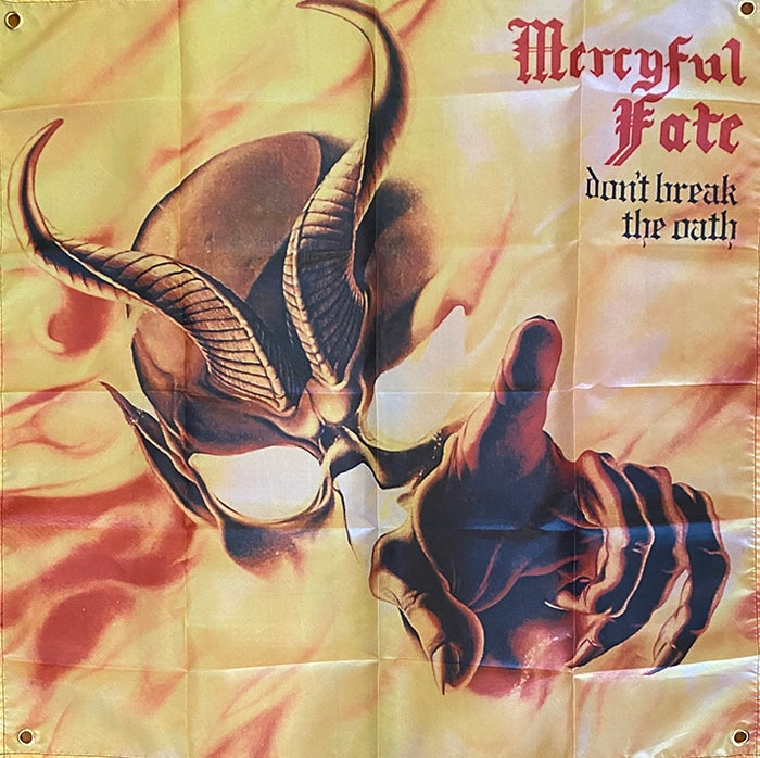"Image of Mercyful Fate  "" Don't Break The Oath ""   Flag / Banner / Tapestry /"