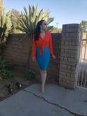 Katerin Blouse (orange)