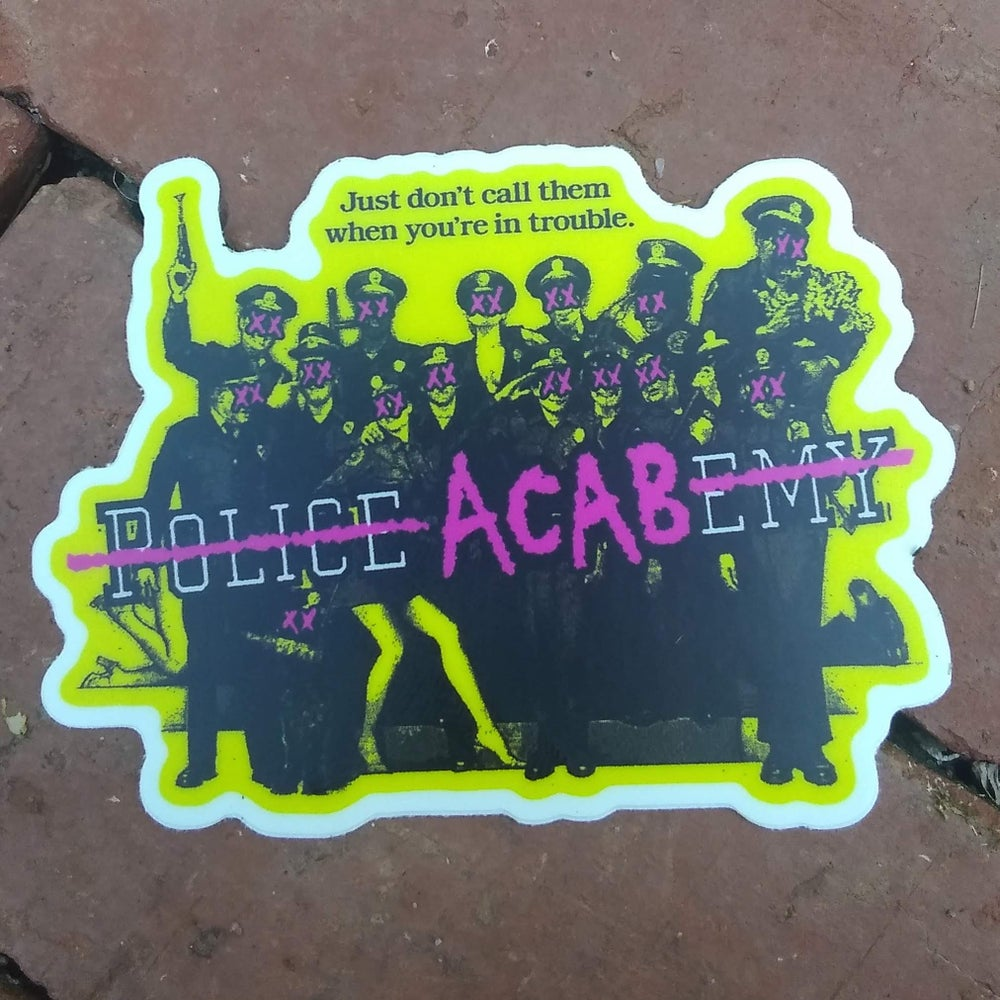 Image of Police ACABemy sticker