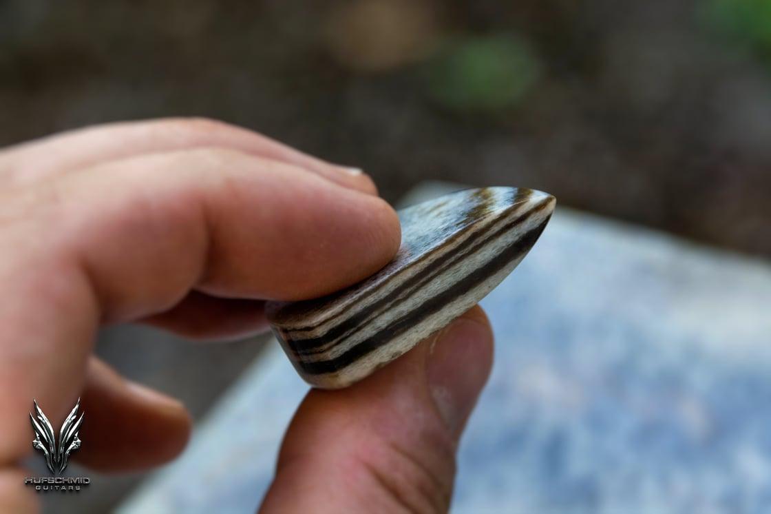 Image of 10mm 'GRANITE' ANVIL plectrums (UNREPEATABLE)
