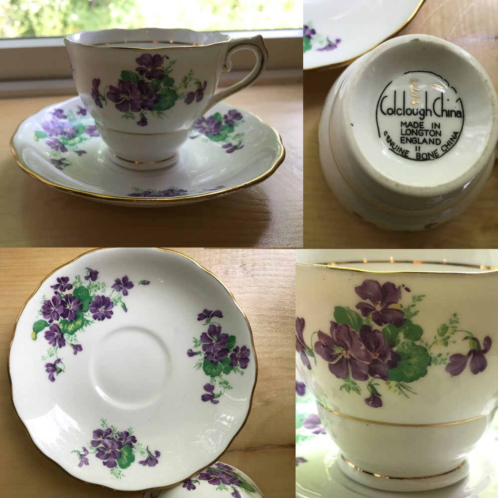 Image of Bone China Teacups,  Antique Gifts, Unique Gifts, Wedding Gifts, Household Gifts