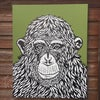 'chimp peace green'