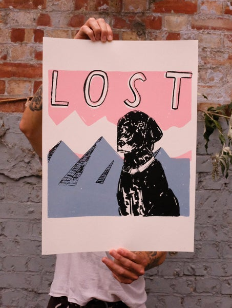 Image of 'Lost' Print