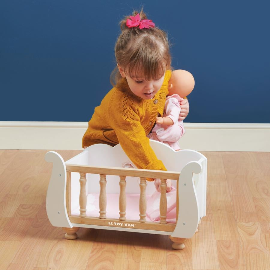 Image of Wooden Doll Crib