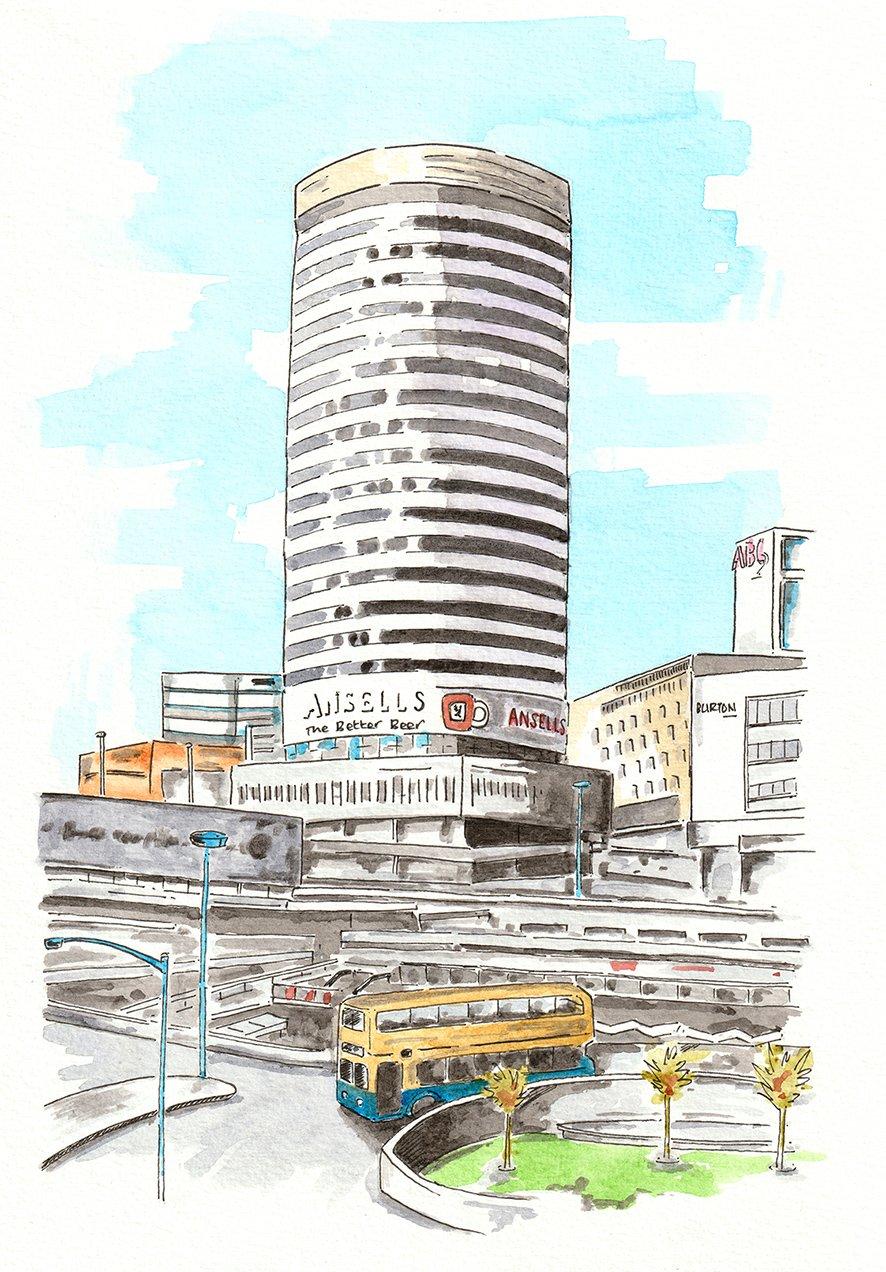 Image of The Rotunda, Birmingham