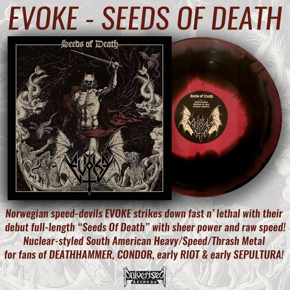 """EVOKE """"Seeds Of Death"""" LP"""